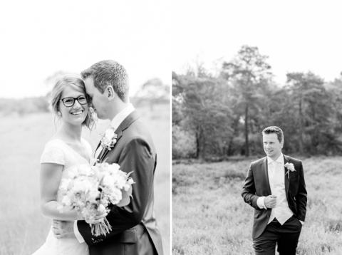 vintage romantische bruidsreportage in Barneveld