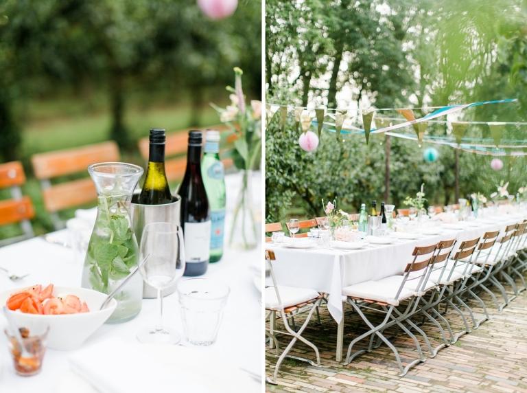 Bruiloft en diner bij Olmenhorst