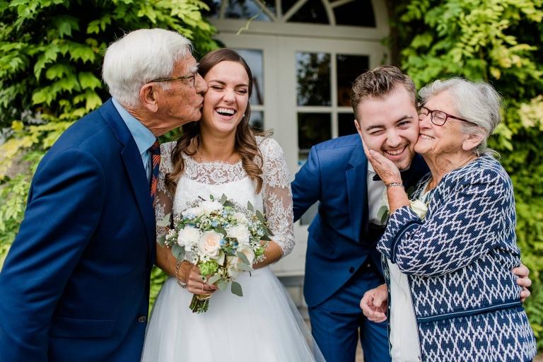 Groepsfoto's op bruiloft - 5 tips